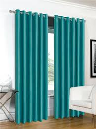 turquoise blackout curtains grey and turquoise curtains medium