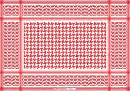 free classical keffiyeh vector pattern free vector