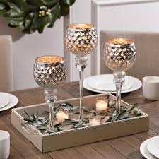 How To Decorate Your Dining Room Table Silver Honeycomb Charismas Set Of 3 Honeycombs Decorating And