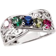 design a mothers ring fillagree mothers ring in yellow or white gold
