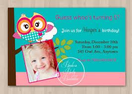 A Birthday Invitation Card Cute Birthday Invitations Kawaiitheo Com