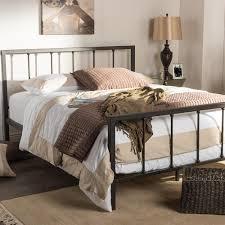 Queen Size Platform Bed Zinus Modern Studio Black Queen Platform Bed Hd Asmph 20q The