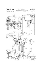 Kitchen Faucet Foot Pedal Patent Us2830618 Hand And Foot Operated Sink And Lavatory