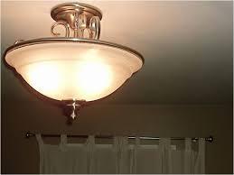 Nickel Ceiling Light Bedroom Small Flush Mount Light Brushed Nickel Ceiling Light