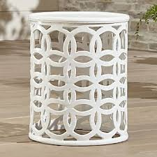 Large Side Table Outdoor Side Tables Crate And Barrel