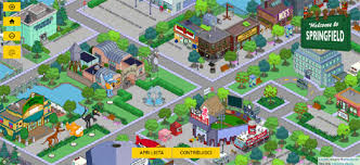 springfield map maps mania mapping the simpsons
