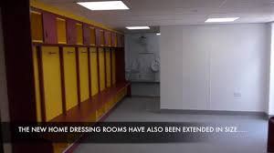 dressing room pictures take a look inside city u0027s new home dressing room youtube