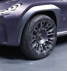 lexus ux concept goodyear unveils urban crossover concept tyres for the lexus ux