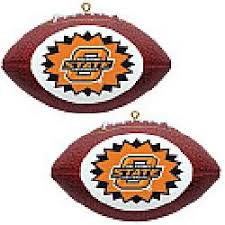 topperscot oklahoma state cowboys two mini replica football