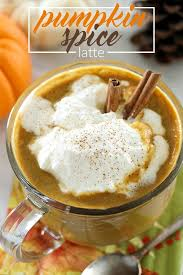browned butter pumpkin spice latte