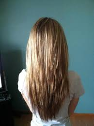 back view of choppy layered haircuts and this is length ium choppy layered haircuts for long hair back