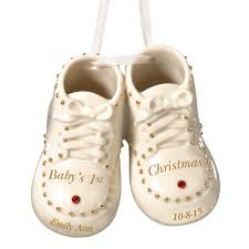 29 95 baby s 1st steps ornament by lenox gift ideas