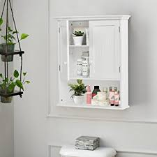 Bathroom Cabinet Storage Organizers Tangkula Wall Mount Bathroom Cabinet Storage Organizer