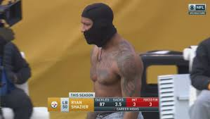 Ohio State Tattoos - shazier shows ohio state in 17 degree pittsburgh