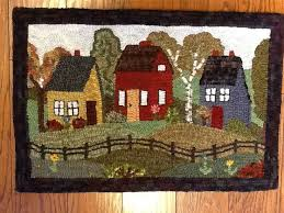 primitive hooked rugs cievi home