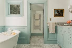 bathroom wall cabinet with towel rack with traditional blue