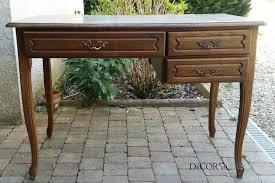 relooker un bureau en bois bureau relooké effet zinc et noir decor in idées conseils