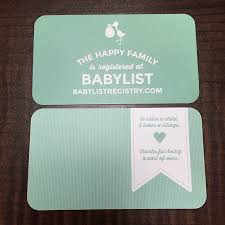 baby registry cards a ba registry with balist come wag along baby registry