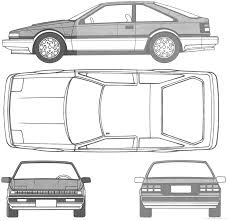 nissan 240sx drawing 180sx clipart