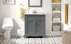 The Powder Room Mississauga How To Choose A Bathroom Vanity The Home Depot Canada The Home