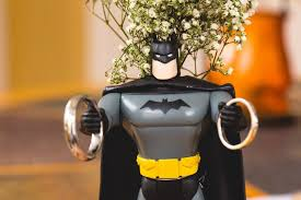 batman centerpieces sensational theme ideas for the batman wedding