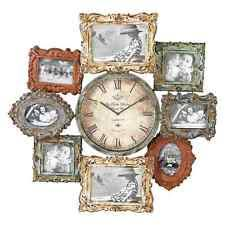 Home Decor Photo Frames Picture Frame Clock Ebay