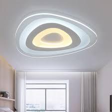 Led Flush Mount Ceiling Lights Ever Flower Modern Acrylic Led Flush Mount Ceiling Light With Max