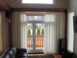 curtains over french doors door decoration