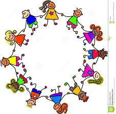 kids holding hands clipart clipart library free clipart images