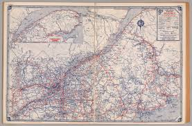 Map Of Southeastern States by Road Map Of Quebec David Rumsey Historical Map Collection