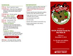 register rudolph family fun 5k run walk khcpl