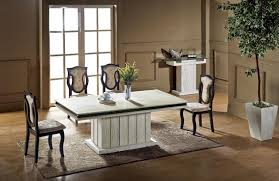 marble dining room set luxury travertine dining table set high quality health