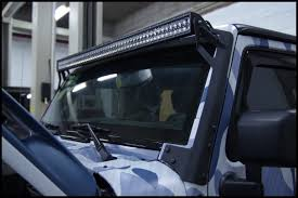 jeep light bar mount snevey u0027s scorpion tj u0026 jk 50