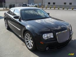brilliant black crystal pearl 2008 chrysler 300 c srt8 exterior