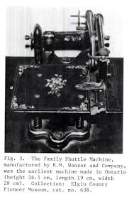 cat orie si e auto b a stitch in sewing machine industry of ontario 1860 1897