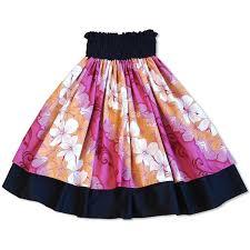 hawaiian pattern skirt happy lei pink double pa u hawaiian hula skirt lavahut