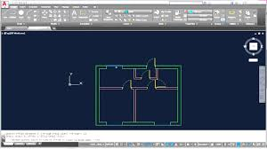 autocad complete floor plan part 3 adding doors windows