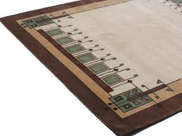 Arts And Crafts Style Rugs Craftsman Style Area Rugs Mission Style Area Rugs The Gingko Motif