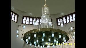 chandelier pictures ثريات إسلامية للمساجد mosque chandeliers youtube