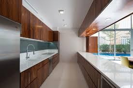 small modern galley kitchen design home design ideas