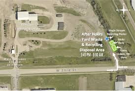 after hours yard waste u0026 recycling disposal city of yankton sd