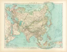 Map Of Asia And Middle East by Old Map Of The Middle East With Egypt In 1905 Buy Vintage Map