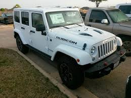 white jeep 2016 new 2015 jeep wrangler unlimited rubicon hard rock edition white