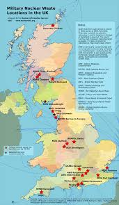 Southampton England Map by Military Nuclear Waste Locations In The Uk Nuclear Information