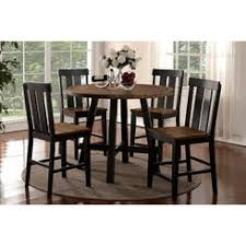 round counter height table set round counter height dining table set