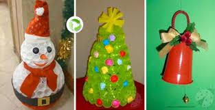 riciclare bicchieri di plastica decorazioni natalizi con bicchieri di carta o plastica 20 idee