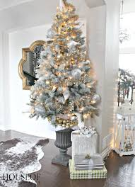 silver tinsel christmas tree the party hat christmas tree the house of silver lining