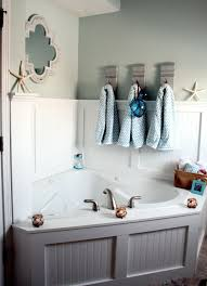 adorable bathroom furniture nautical theme sea stained wall