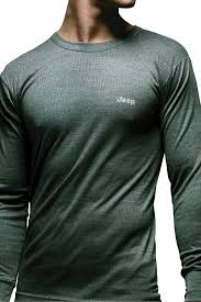 jeep shirt mens 1 pack jeep long sleeved thermal t shirt in 3 colours amazon