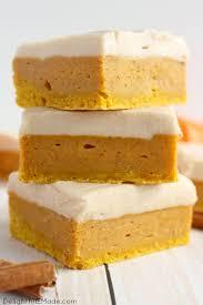 15 easy pumpkin bars best recipes for fall pumpkin bars